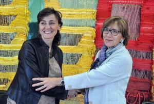 signatura amb l'Ajuntament de Sant Cugat del Vallès 2013